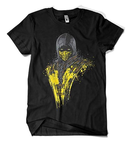Camisetas La Colmena 1073-Camiseta Mortal Fire Talla S