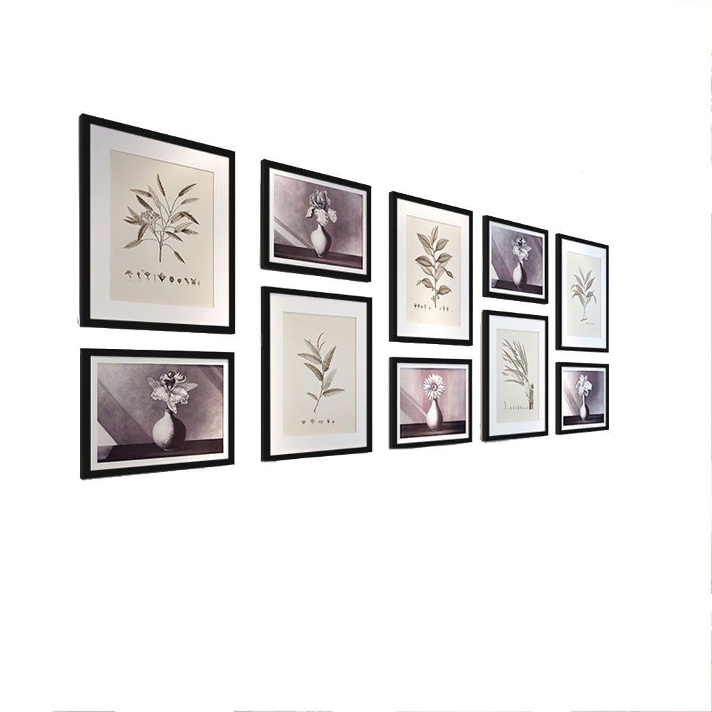 Amazon.de: HDOH Multi-Picture-Bilderrahmen-Set, Galerie-Wand-Rahmen ...