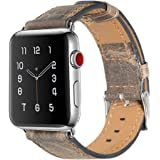 Apple Watch Bracciale Serie 2 e serie 1, PUGO TOP IN ACCIAIO INOX Replacement Wrist Band con metallo e amore orologio bracciale Fur Apple Watch Tutti i Modelli