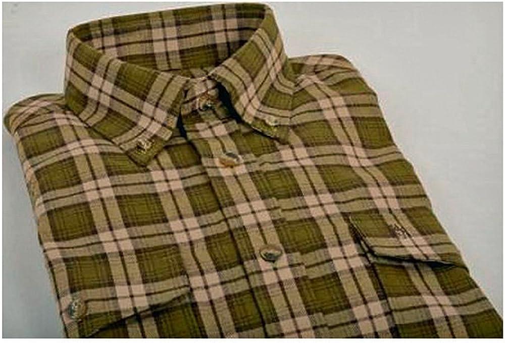 Camisa de franela Böcker/camisa de caza (9123), verde, otoño ...