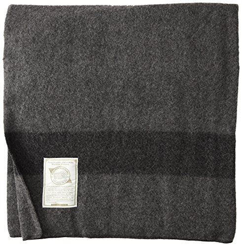 Woolrich 60 by 84-Inch Gettysburg Blanket - 80-percent reprocessed wool/20-percent nylon Hand wash or dry clean Made in the usa - blankets-throws, bedroom-sheets-comforters, bedroom - 61KM14cqfuL -