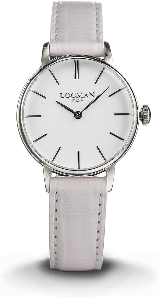 Orologio solo tempo donna locman 1960 casual cod. 0253a08a-00whnkpw