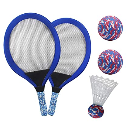 YIMORE Raquetas de Tenis Badminton Racket Set con Bolas ...