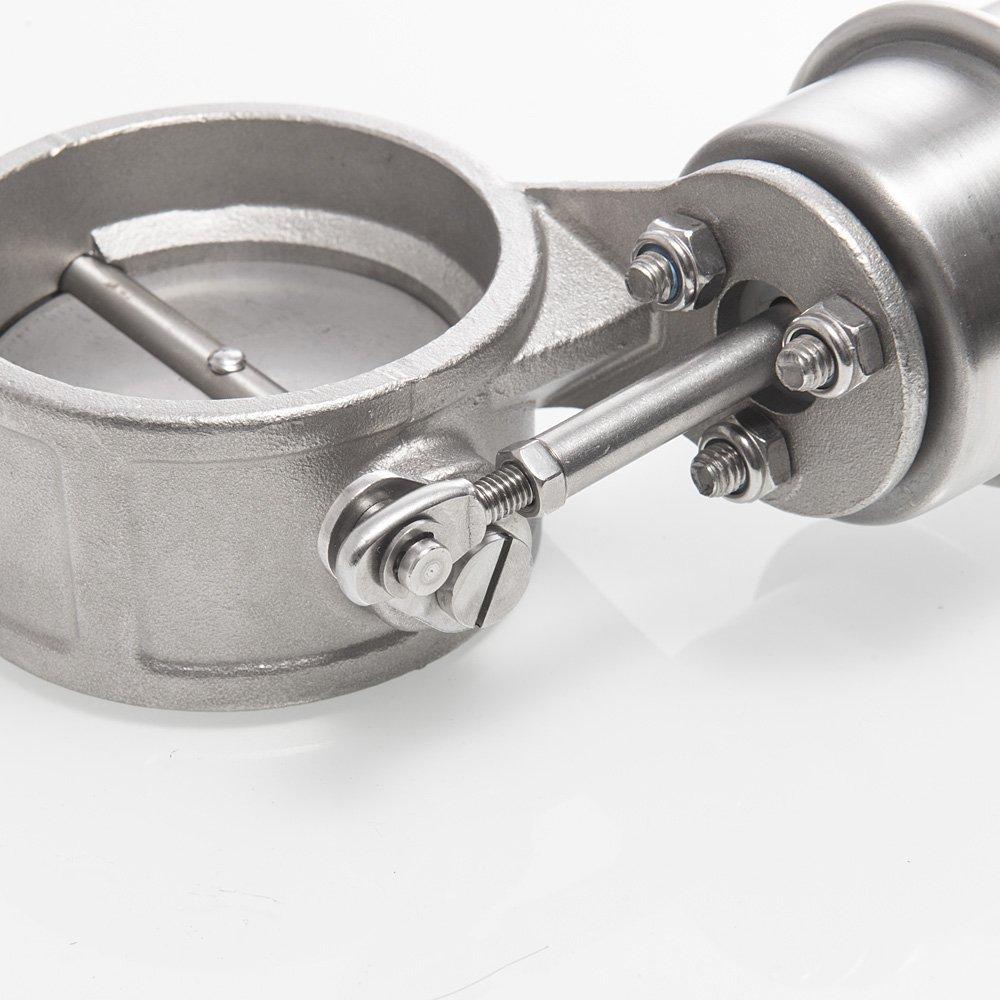 epman tk-cut60-cl-dz V/álvula de control de escape Cutout 2.3/60/mm Pipe Cerca de estilo con vac/ío actuador con remoto inal/ámbrico controlador Set