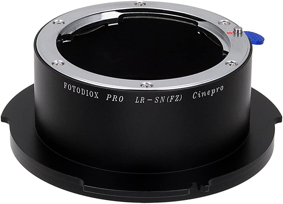 F5 Fotodiox Pro Lens Mount Adapter F55 Digital Cinema Camcorders and Leica R and Three-Cam Lenses Leica R Mount Lens to Sony FZ Mount Camera Adapter fits Sony PMW-F3 Two-Cam One-Cam ROM