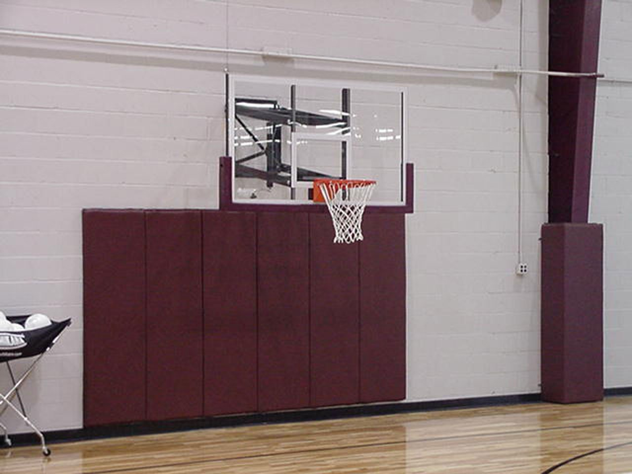 Amazon.com : Goalsetter Wall Mounted Height Adjustable Basketball System :  Wall Mount Basketball Backboards : Sports U0026 Outdoors