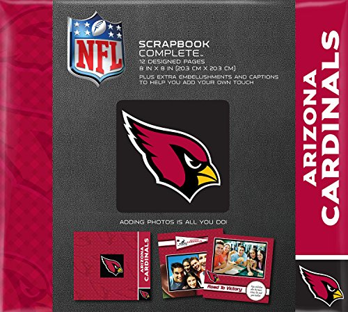 C.R. Gibson Scrapbook Complete Kit, Small, Arizona Cardinals (N878372M) ()