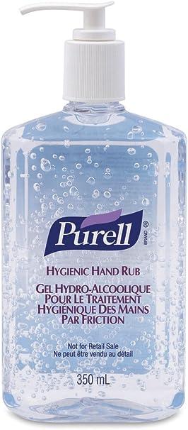 Purell Hygienic Alcohol Hand Sanitiser 300ml Amazon Co Uk