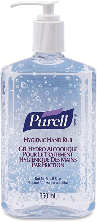 Purell Hygienic Alcohol Hand Sanitiser 300ml Amazon Co Uk