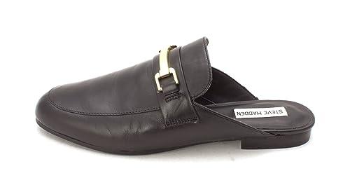 6ca6b1419b1 Steve Madden Womens Brightly Leather Closed Toe Mules