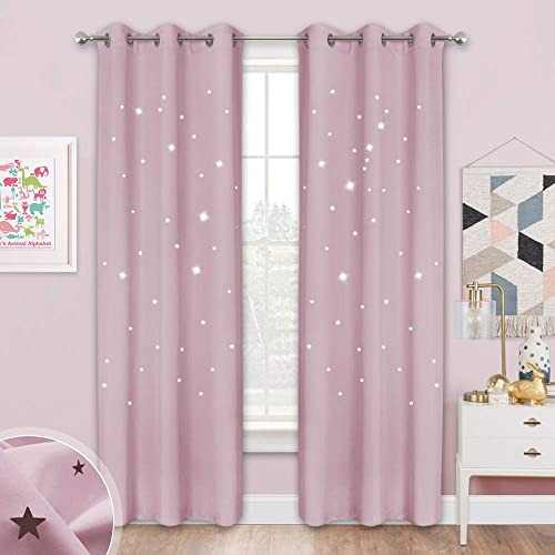 NICETOWN Twinkle Star Blackout Curtain