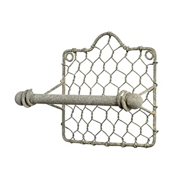 Colonial Tin Works Chicken Wire Toilet Paper Holder