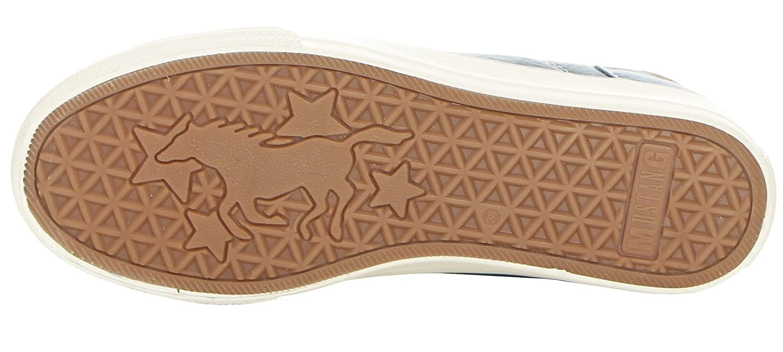 Mustang Damen Damen Damen 1272-301-555 Sneaker, Blau ea56cb