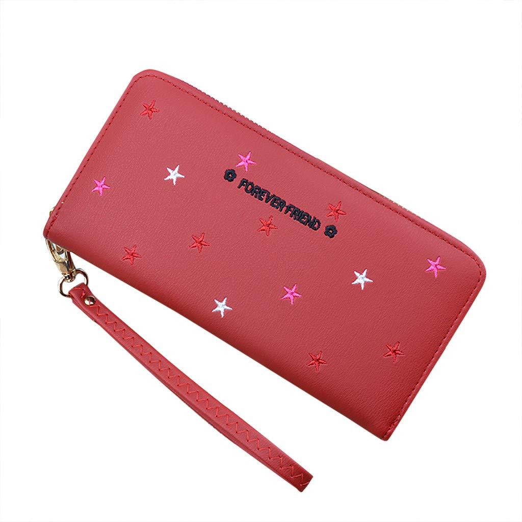 FLY-blue cartera de mujer de color sólido, decoración de ...