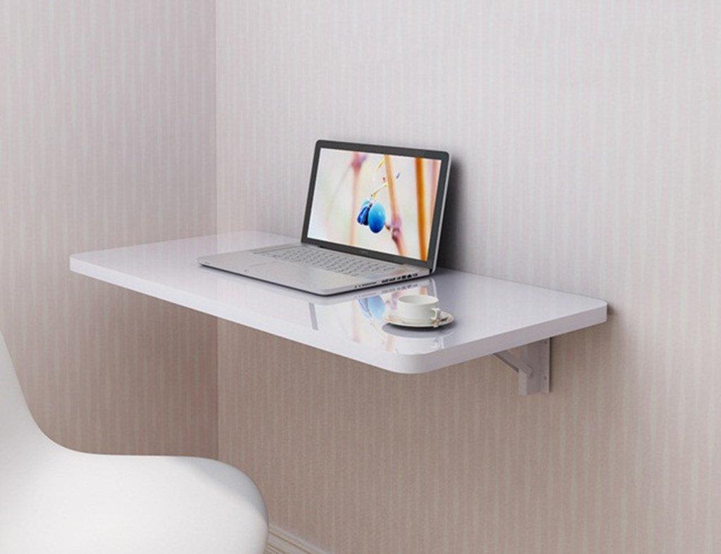 壁掛けデスクペイント折り畳み式ダイニングテーブルオフィステーブル ( サイズ さいず : 90*50cm ) B07993V2DX 90*50cm 90*50cm