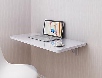 Zxldp table de bureau murale table À manger pliable table de