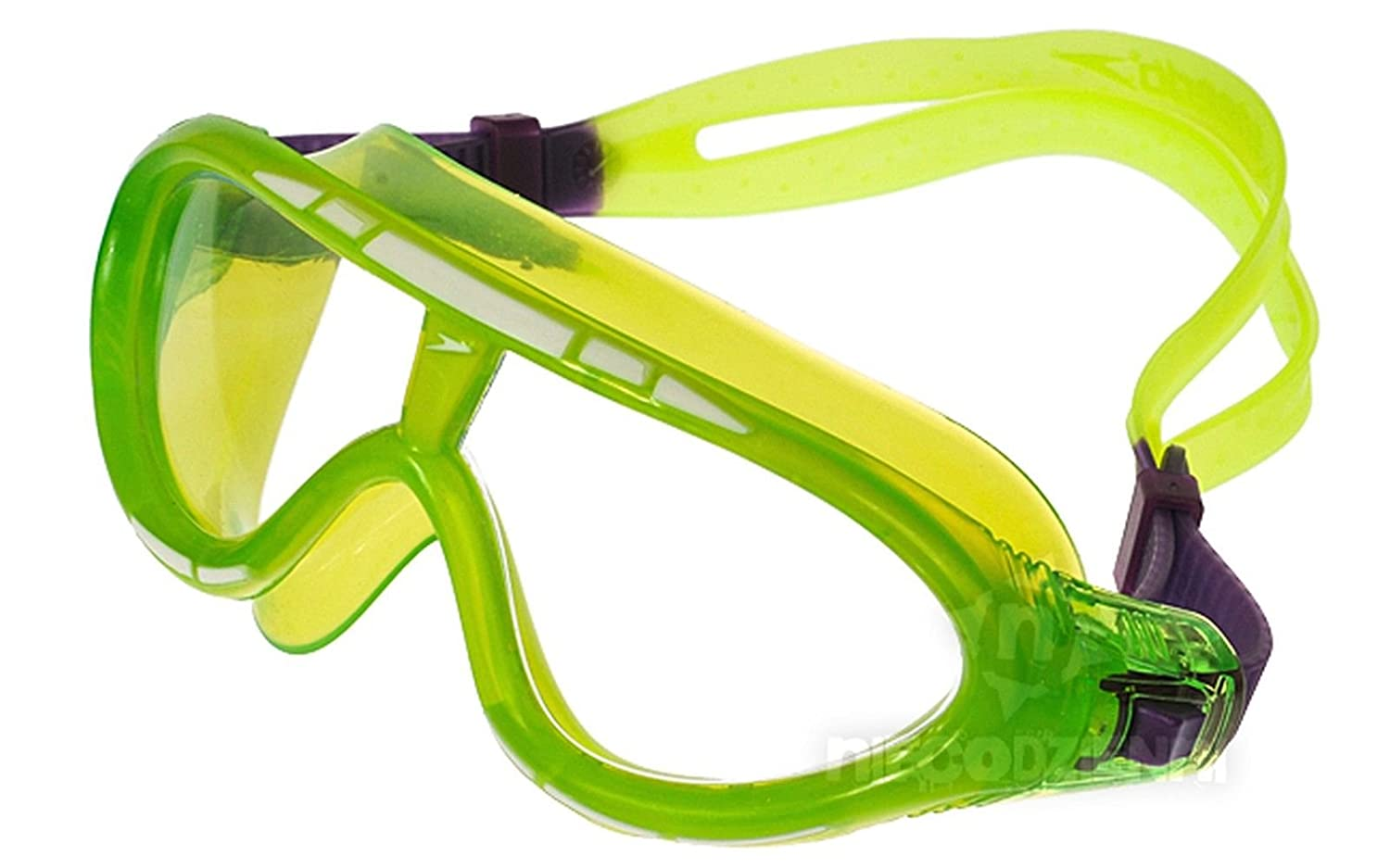 1cd47cc31acb Speedo Junior Rift Biofuse Swimming Mask Goggles - Green  Amazon.co.uk   Sports   Outdoors