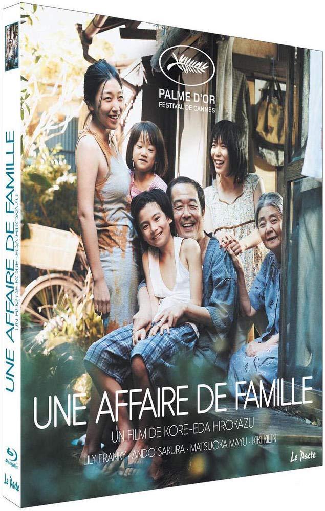 blu-ray du film Une affaire de famille