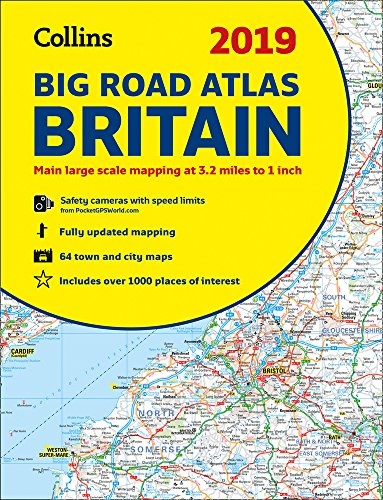 (2019 Collins Big Road Atlas Britain )
