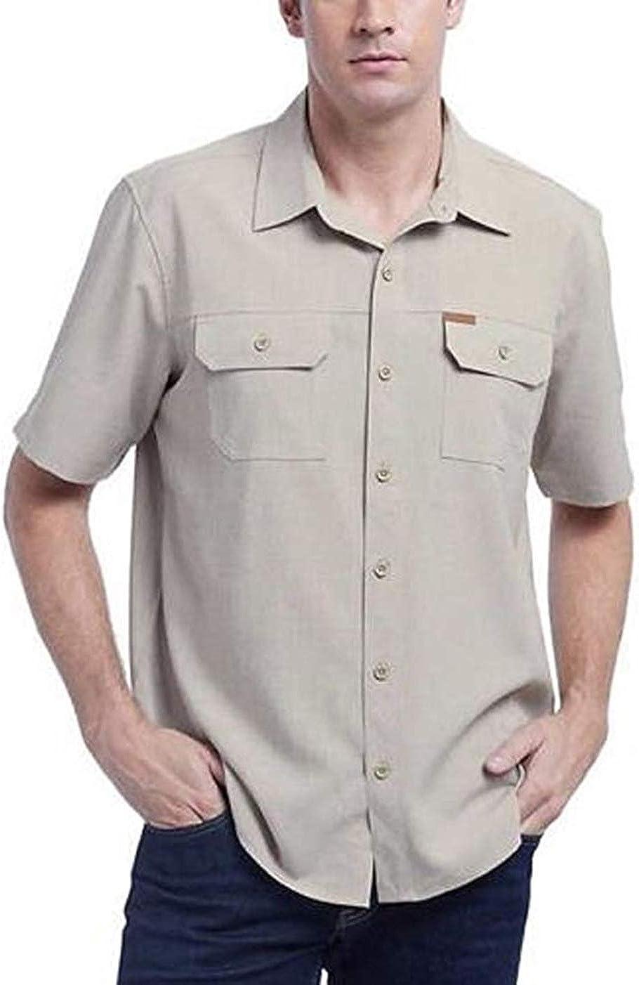 Orvis Mens Short Sleeve Woven Tech Shirt