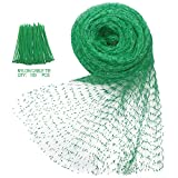 buy Heqishun Anti-Bird Netting 33Ft x 13Ft Nylon Woven with 100Pcs Nylon Cable Ties Garden Farm Plants Fencing Mesh Fruits Protector Durable Fish Ponds Cover Green now, new 2019-2018 bestseller, review and Photo, best price $8.99