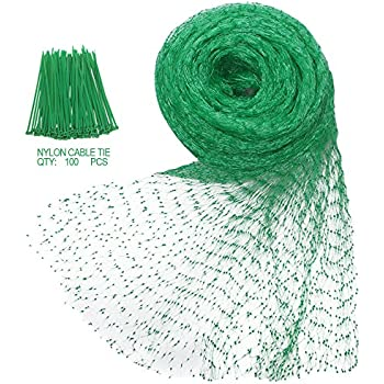 Amazon.com : Industrial Tools 33-Ft x 6.5 Ft Garden Plant Netting ...