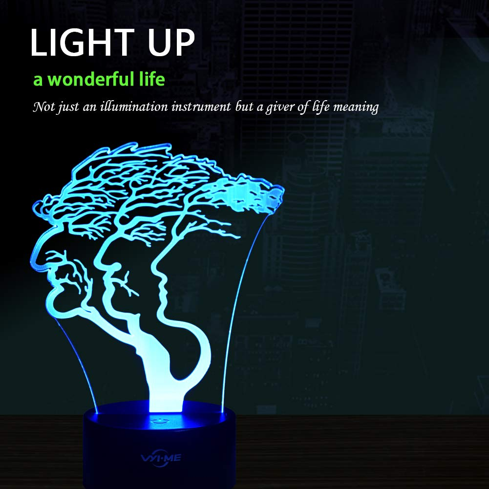 Creative Festival Birthday Day Children Gift LED Visual 3D Lamp Sport Illusion Night Light for Nursery Bedroom Desk Table Decoration Sports 3