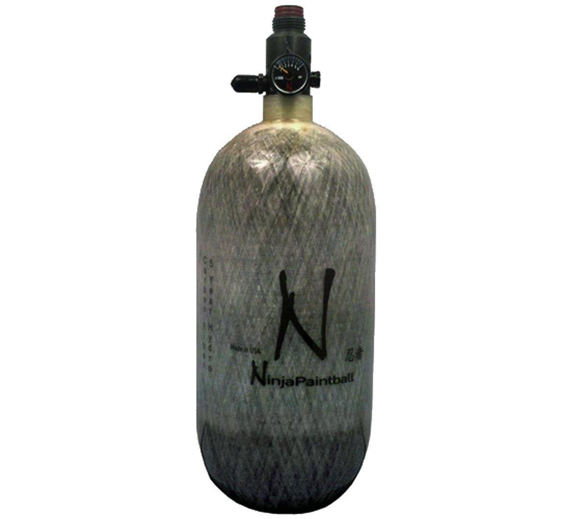 Ninja Paintball 4500 PSI Carbon Fiber HPA Tanks w/ Regulator