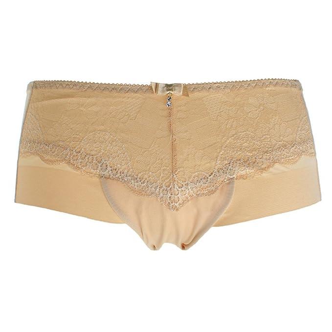 libre de ropa interior de Dama cadera Cordón boyshort de cintura y abdomen en-B