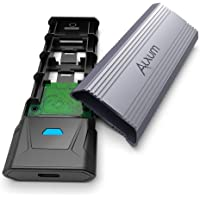 Alxum M.2 NVME SATA SSD Enclosure Adapter tot 10Gbps, USB 3.1 Gen 2 naar NVME PCIe USB 3.1 Gen2 M-Key M+B-Key 2242/2260…