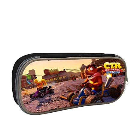 Amazon.com : GSGSDG CTR Nitro-Fueled Game Pencil Case for ...