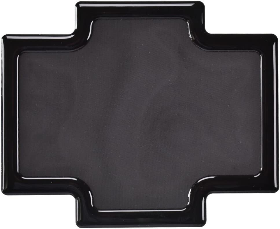 DEMCiflex Dust Filter for Phanteks Enthoo Pro M, Rear Large Filter, Black Frame/Black Mesh