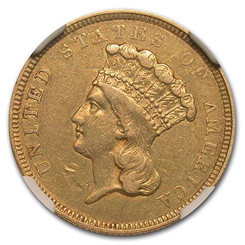 1854 O $3 Gold Princess?XF-45 NGC Gold XF-45 NGC