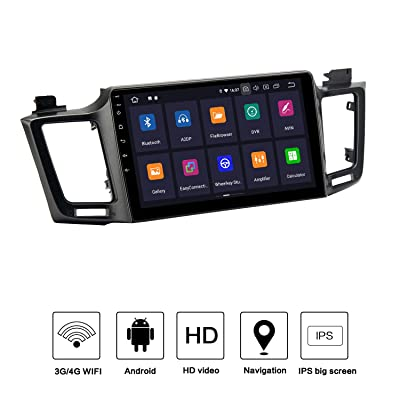 "Dasaita 10.2"" Android 9.0 Car Radio Audio Stereo for Toyota Rav 4 2015 2016 2020 2020 Bluetooth GPS Navigation Audio Player Multimedia Head Unit Music Video Player Quad-Core 2G 16G: GPS & Navigation"