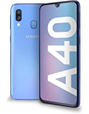 "Samsung Galaxy A40 Display 5.9"", 64 GB Espandibili, RAM 4 GB, Batteria 3100 mAh, 4G, Dual SIM Smartphone, Android 9 Pie, (2019) [Versione Italiana], Blue"