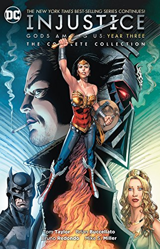 Book : Injustice Gods Among Us Year Three The Complete...
