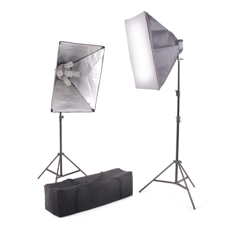 Kaezi Video Lighting Kit Photo Studio Kit 2000 Watt Digital Video Continuous CH9026S by Kaezi Photography
