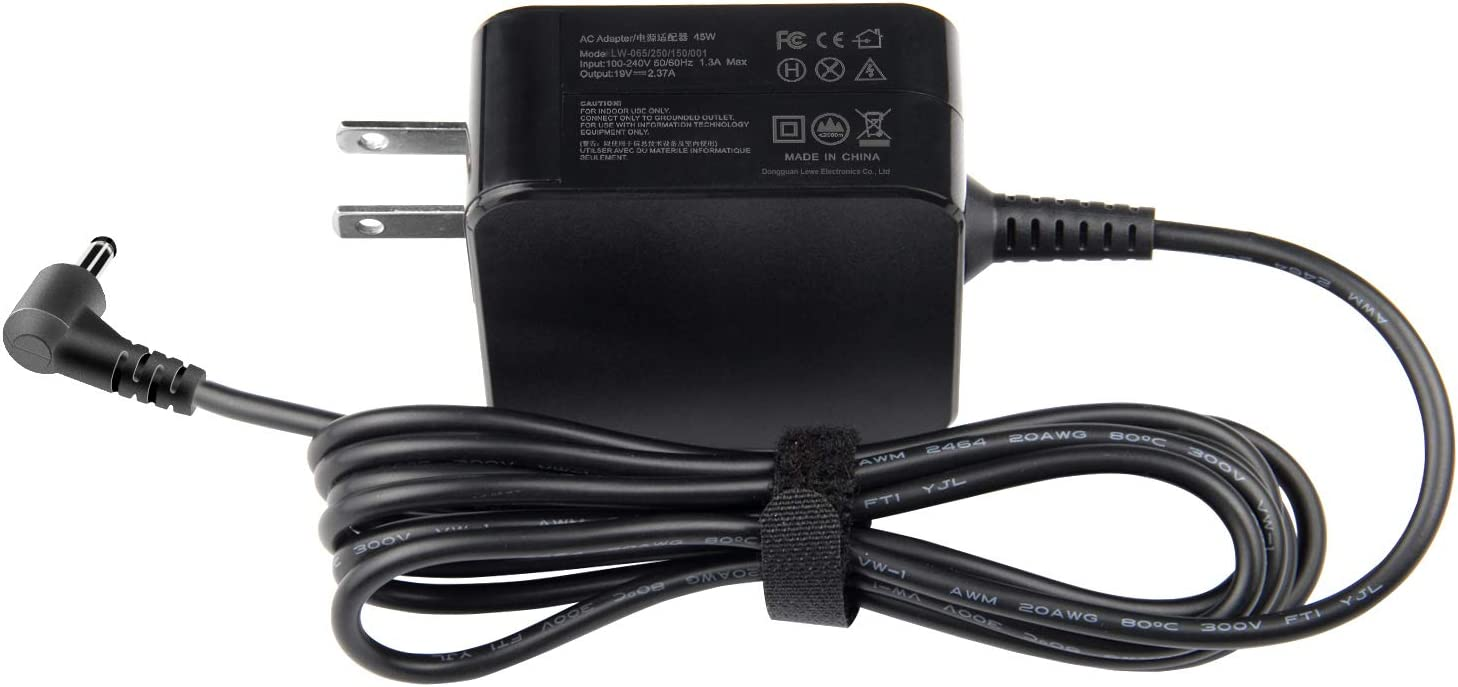 AC Adapter Charger for Asus X541N X541NA X553M X540S F510U Q200E Q302L Q504UA Q304U UX360C UX31A UX330U UX305C C202SA C300SA E402WA AD890326