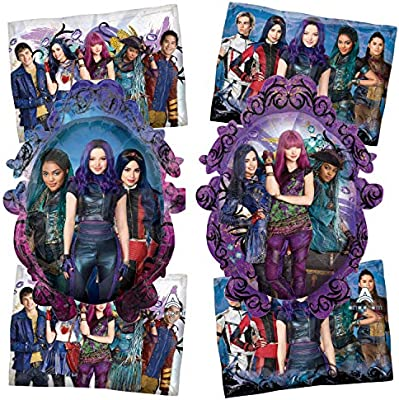 Makes A Great Banner Backdrop Or Bouquet To Compliment Other Descendants Party Supplies Descendants Birthday Party Balloon Decorations 3 Pack Set Of Descendant Balloons From The Disney TV Movie Series