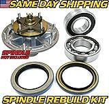 62c blade - (1 Kit) John Deere Blade Spindle Rebuild Kit AM141457 Edge 48C, 54C, 60D, 62C - HD Switch