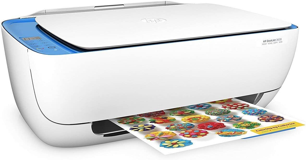 HP DeskJet 3639 - Impresora Multifunción (imprime, escanea, copia, WiFi, WLAN, Airprint), compatible con el servicio HP Instant Ink: Hp: Amazon.es: Informática