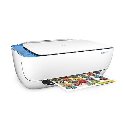 HP DeskJet 3639 - Impresora multifunción (imprime, escanea y copia), incluye 1 año de Instant Ink con el plan de 50 páginas/mes