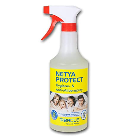 Abacus Netata Protect 4140 Spray Hygienique Anti Acariens Pour