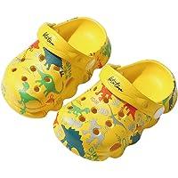 Zuecos Mules Niñas Niños Sandalias de Playa y Piscina Lindo Dinosaurio Zapatillas Verano Respirable Antideslizante…