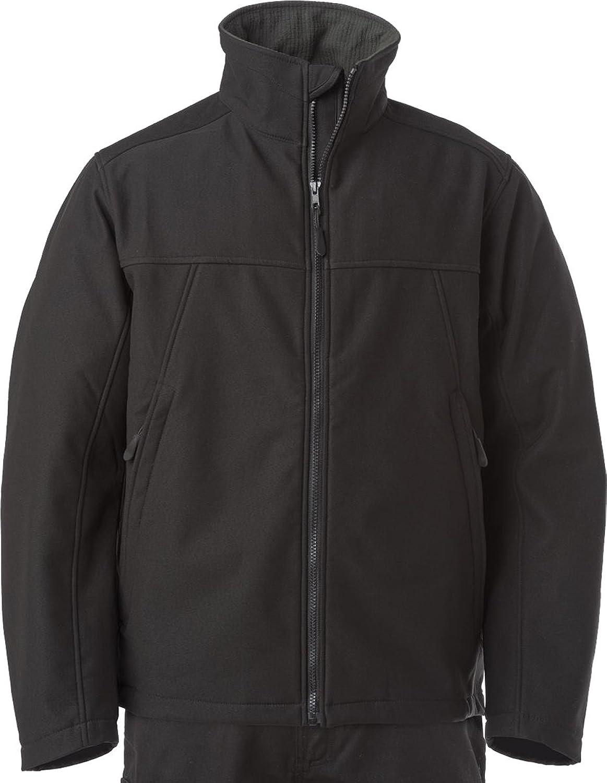 Russell Collection Workwear Softshell Jacket Mens Waterproof Full Zip Coat Top