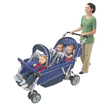Amazon Com 6 Passenger Folding Stroller Tandem Strollers Baby
