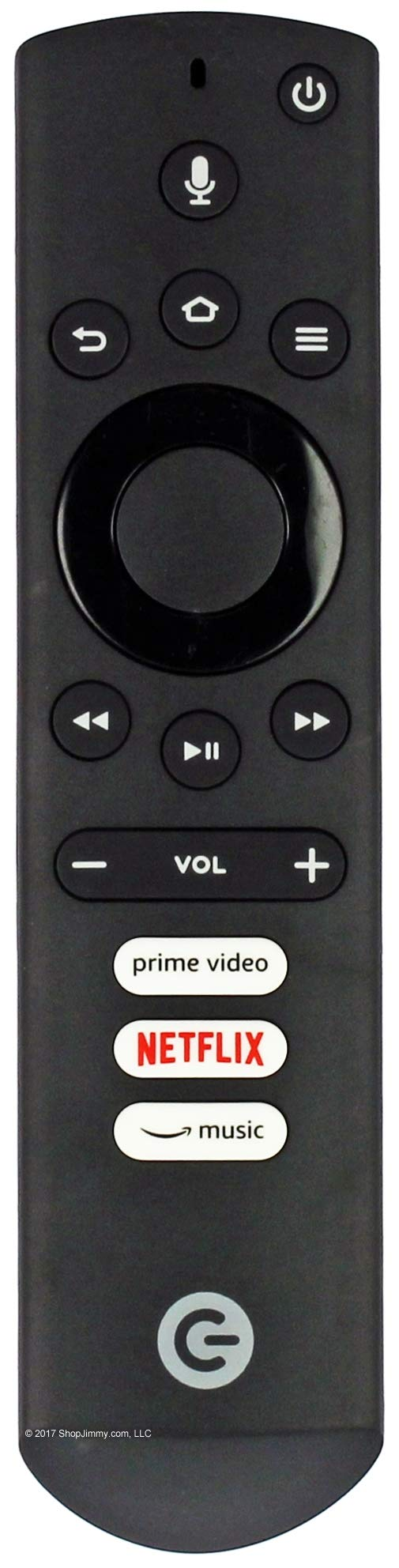 Element/Westinghouse Replacement Voice Remote with Alexa (Open Bag)