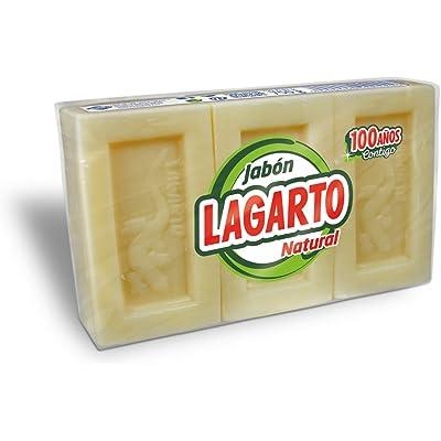 Lagarto Jabón Natural - Paquete de 20 x 3 x 200 gr - Total: 12000 gr