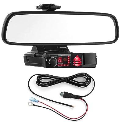 Radar Mount Mirror Mount Bracket + Direct Wire Power Cord for Valentine V1 (3001204): Radar Mount: Car Electronics