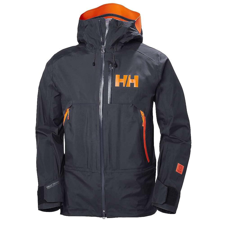 ヘリーハンセン アウター ジャケットブルゾン Helly Hansen Men's Sogn Shell Jacket Graphite B [並行輸入品] B079BSB7Y9  Small